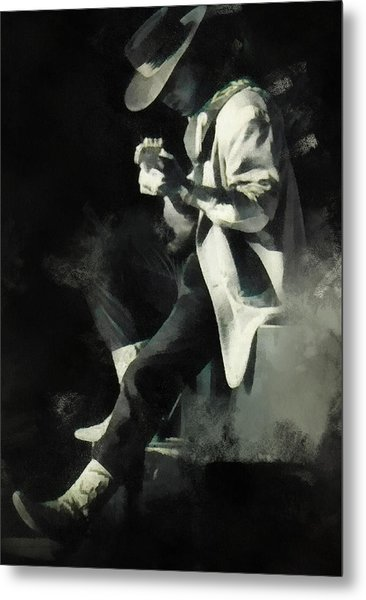 Stevie Ray Metal Print