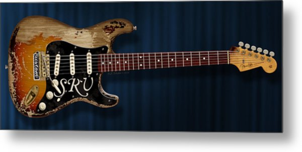 Stevie Ray Vaughan Stratocaster Metal Print