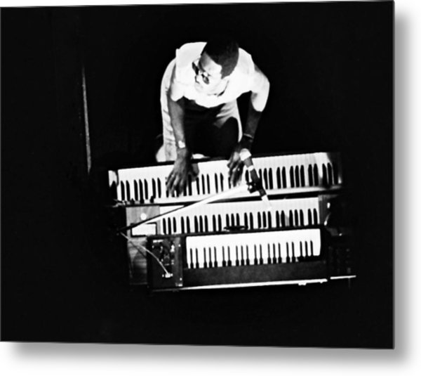 Stevie Wonder - Balconey View Metal Print