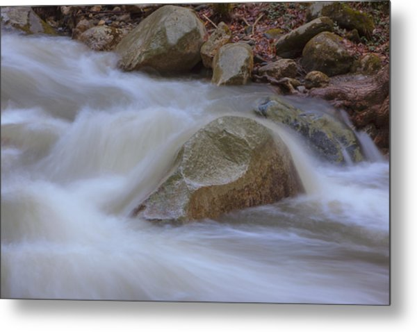 Stickney Brook Rock Metal Print