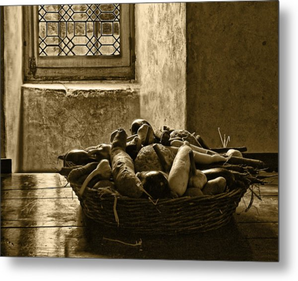 Still Life At Chenonceau Metal Print