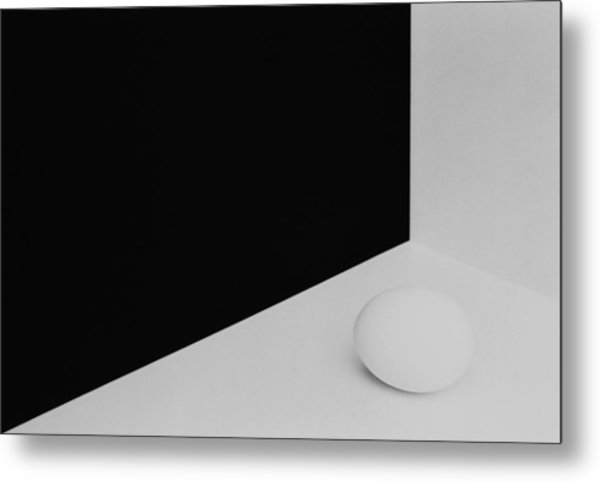 Still Life With Egg 3 Metal Print