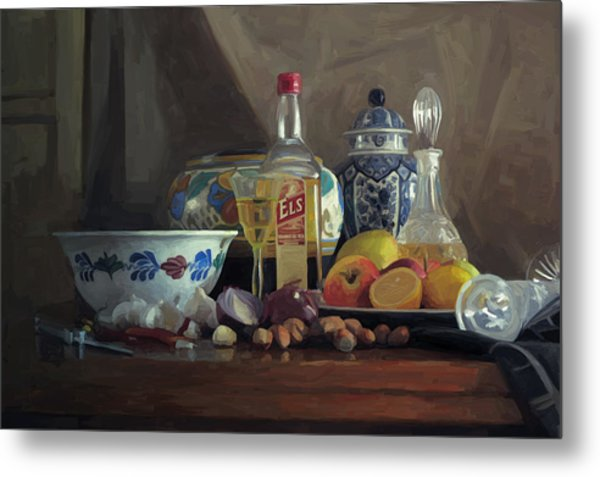 Still Life With Els Metal Print