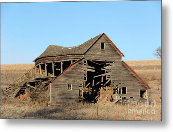 Still Standing But Not Too Long Metal Print