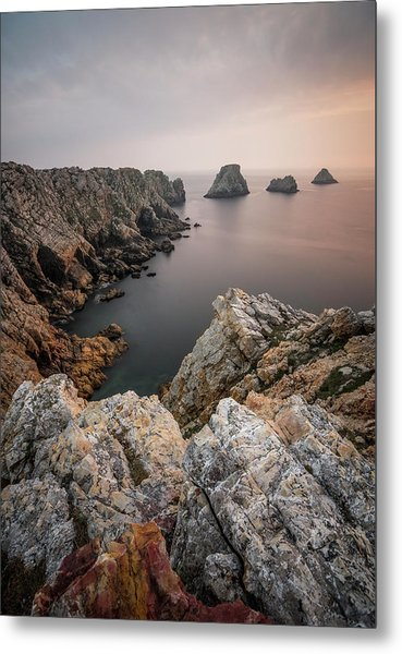 Stillness At The End Of The World Metal Print
