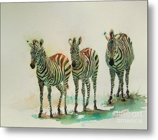 Stipes II Metal Print