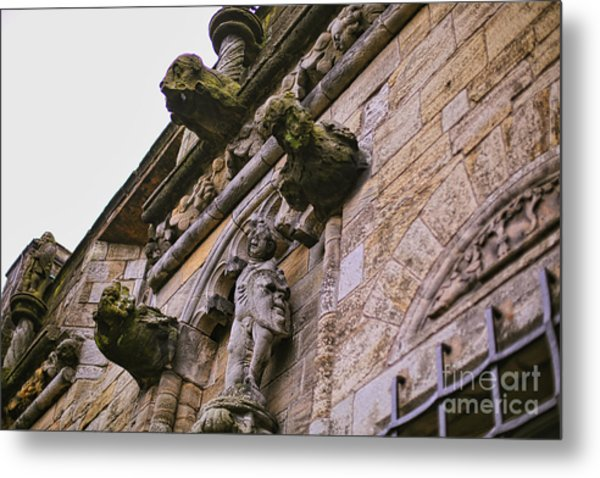 Stirling Castle Detail Metal Print by Kate Purdy