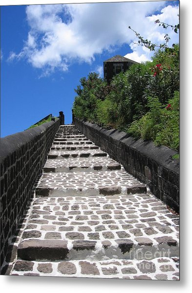 St.kitts - Ascent Metal Print