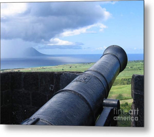 St.kitts Nevis - On Guard Metal Print