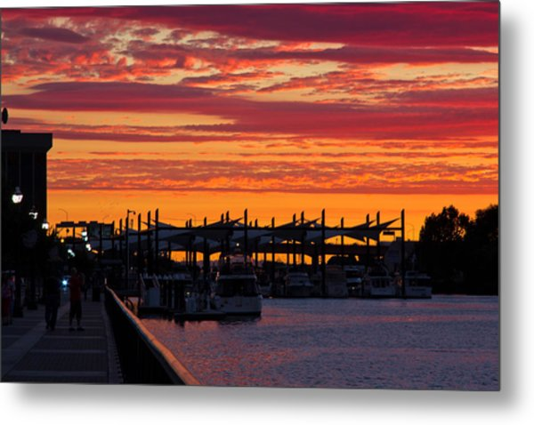Stockton Sunset Metal Print
