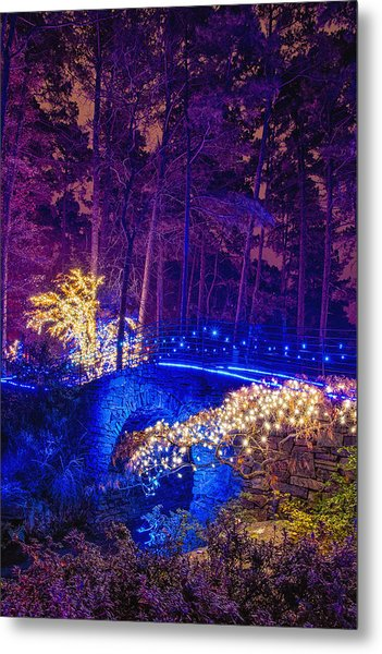 Stone Bridge - Full Height Metal Print