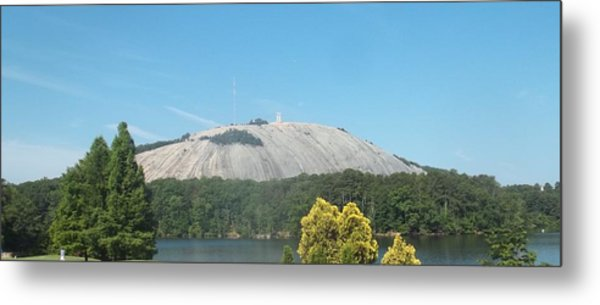 Stone Mountain I Metal Print