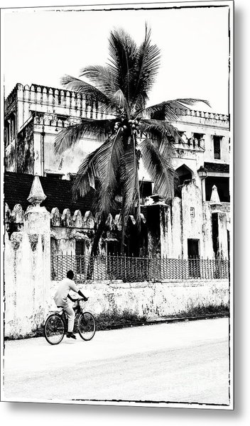 Tanzania Stone Town Unguja Historic Architecture - Africa Snap Shots Photo Art Metal Print