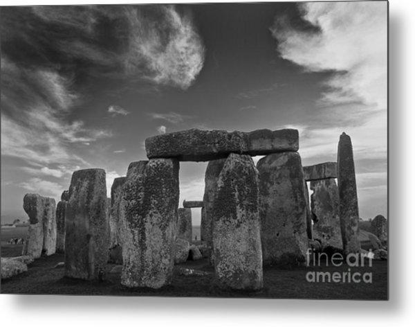 Stonehenge Historic Monument Metal Print