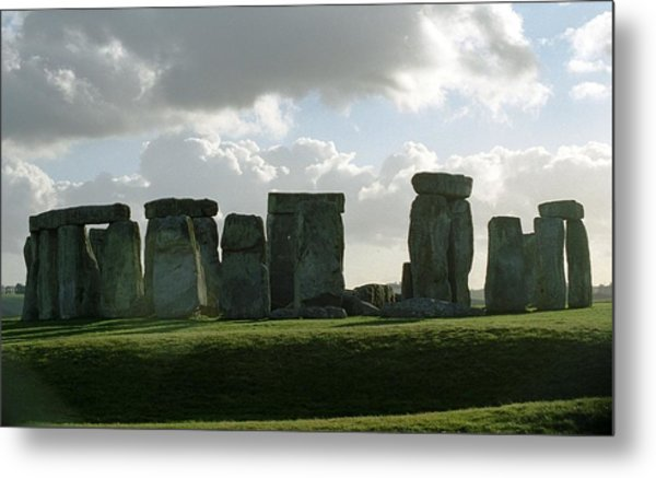 Metal Print featuring the photograph Stonehenge by Susie Rieple