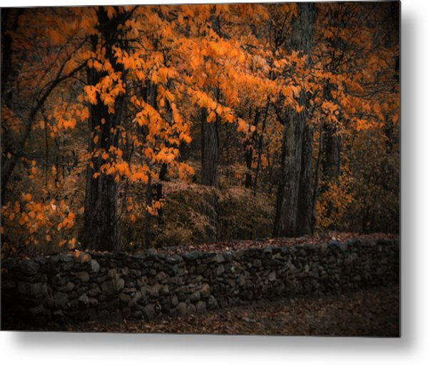 Stonewall In Autumn Metal Print