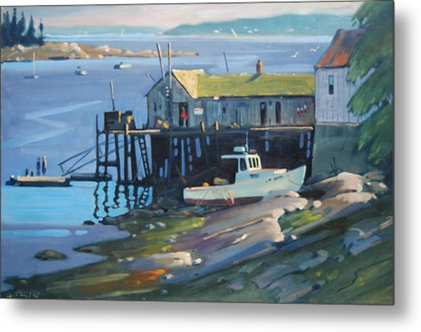 Stonington Maine Metal Print