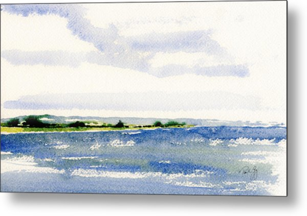 Stonington Point East Metal Print