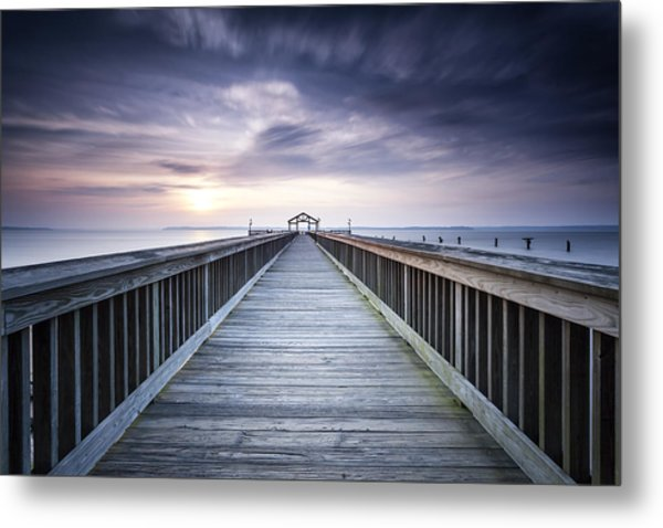 Stopping For The Big Stopper Metal Print