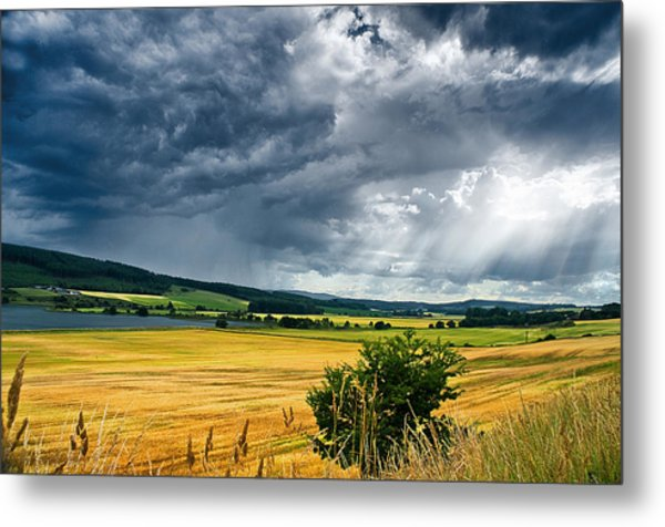 Storm And Sunbeams Metal Print