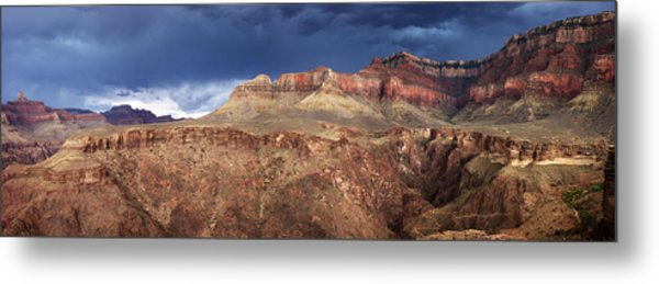 Storm Brewing In The Canyon Metal Print