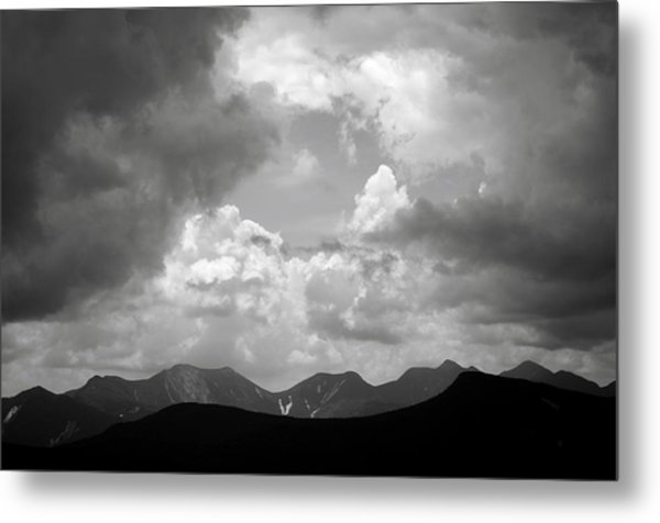 Storm Clouds Over The Great Range Metal Print