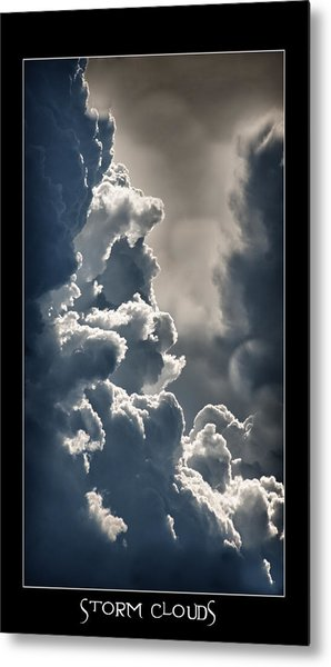 Storm Clouds  Metal Print by Vincent Dwyer