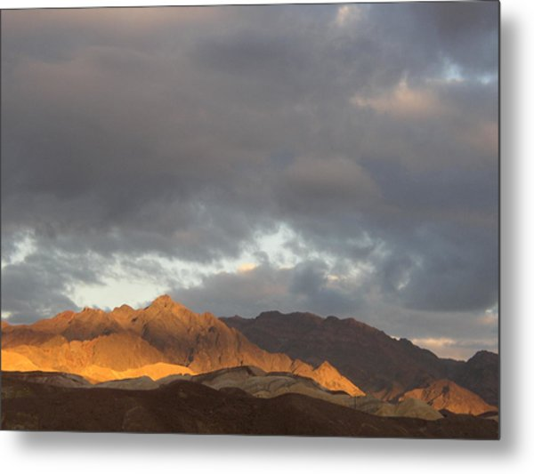 Storm In The Desert Metal Print by Jenny Fish