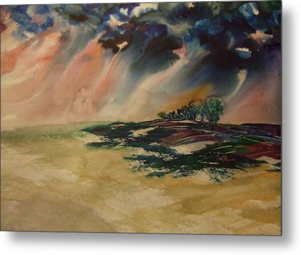 Storm In The Heartland Metal Print
