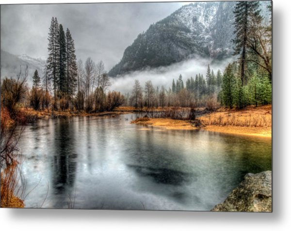 Storm In Yosemite Metal Print