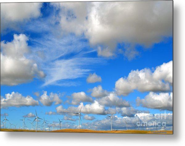 Storm Is Over Metal Print