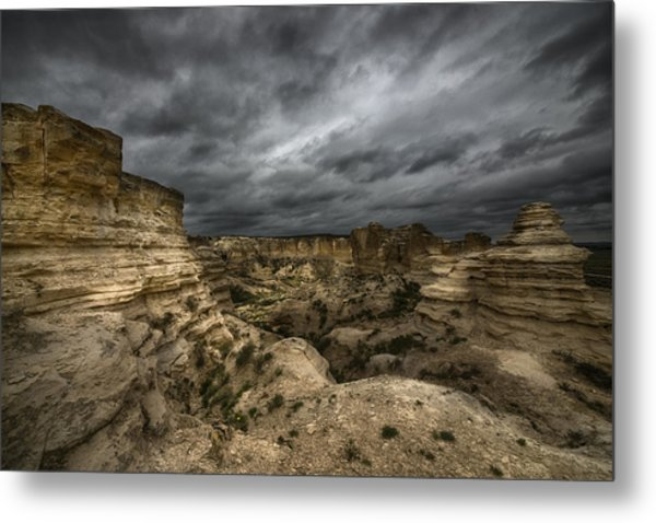 Storm On The Plains  Metal Print