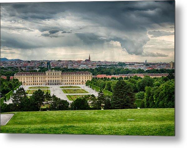 Storm Over Vienna Metal Print by Viacheslav Savitskiy