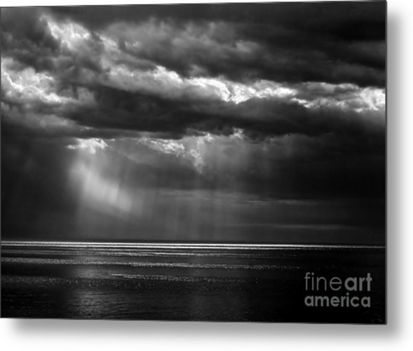 Storm Watching Metal Print