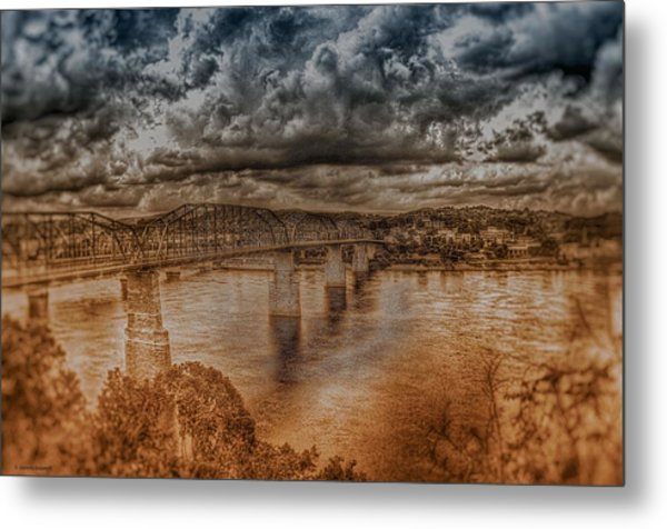 Stormy Clouds Metal Print