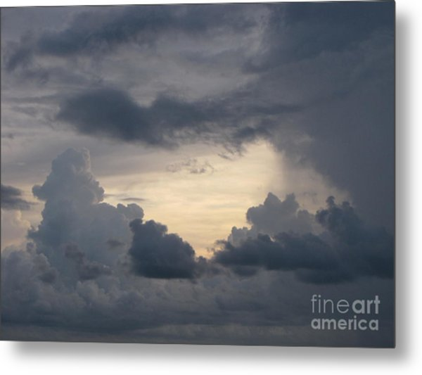 Stormy Evening Metal Print by Gayle Melges
