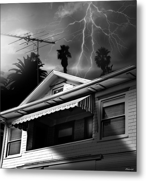 Stormy Monday Metal Print by Larry Butterworth