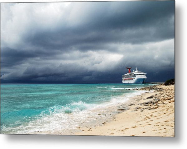Storm Is Coming... Metal Print