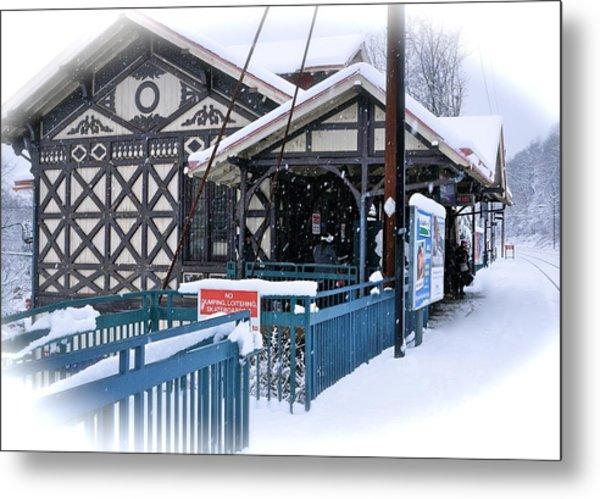 Strafford Station Metal Print