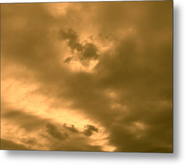 Strange Atmosphere Metal Print