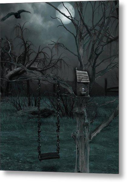 Strange Eyedea Metal Print