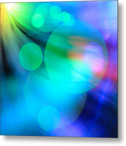 Strangers In The Night Metal Print