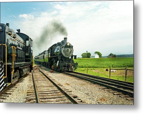 Strasburg Express Metal Print