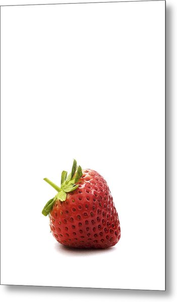 Strawberry Metal Print by Natalie Kinnear