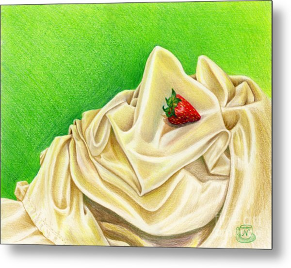 Strawberry Passion Metal Print