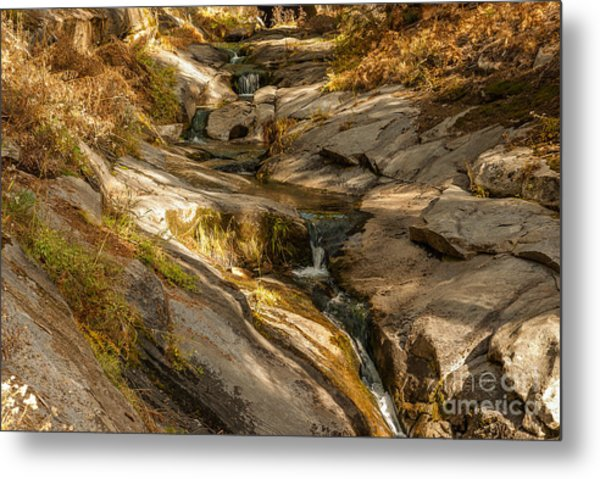Stream In The Sierras  1-7828 Metal Print by Stephen Parker