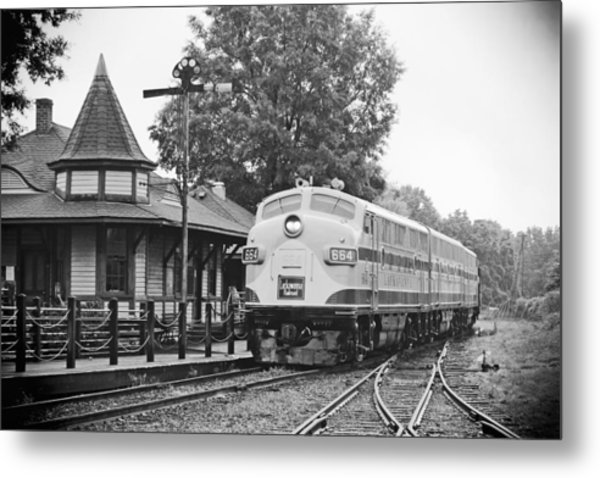 Streamliners Festival -- Post Process Metal Print
