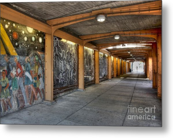 Street Art Metal Print by David Bearden