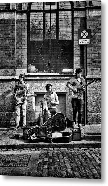 Street Entertainers Metal Print