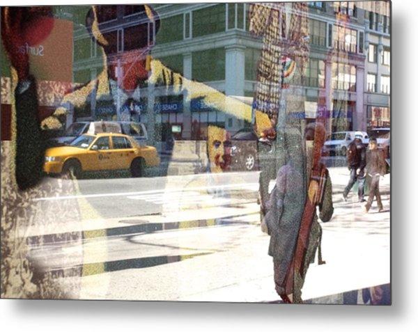 Street Fighting Man Metal Print by Heidi Horowitz